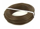 Fil Electrique H07V-U Marron 1.5 mm² - Bobine de 100 m - Ref 8324491S - Miguelez
