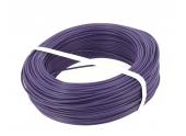 Fil Electrique H07V-U Violet 1.5 mm²  Bobine 100 m - Ref 8324497S - Miguelez