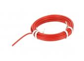 Fil Electrique H07V-U Rouge 2.5 mm² - Bobine de 5 m - Ref 8324594A - Miguelez