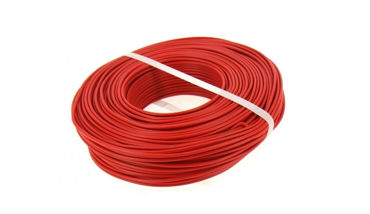 Fil Electrique H07V-U Rouge 1.5 mm² - Bobine de 100 m - Ref 8324494S - Miguelez
