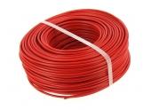 Fil Electrique H07V-U Rouge 2.5 mm² - Bobine de 100 m - Ref 8324594S - Miguelez