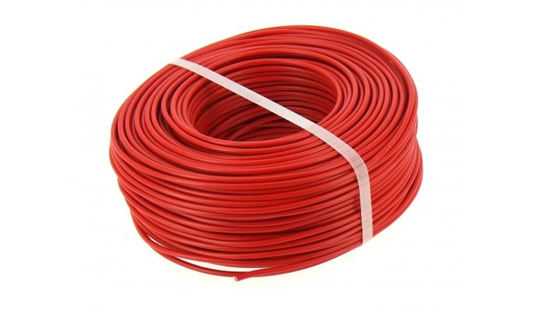 Fil electrique h07v u rouge 2 5 mm bobine de 100 m ref 8324594s miguelez - Bobine fil electrique ...