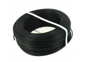 Fil Electrique H07V-U Noir 2.5 mm² - Bobine de 100 m - Ref 7314G17NGP - Général Cable