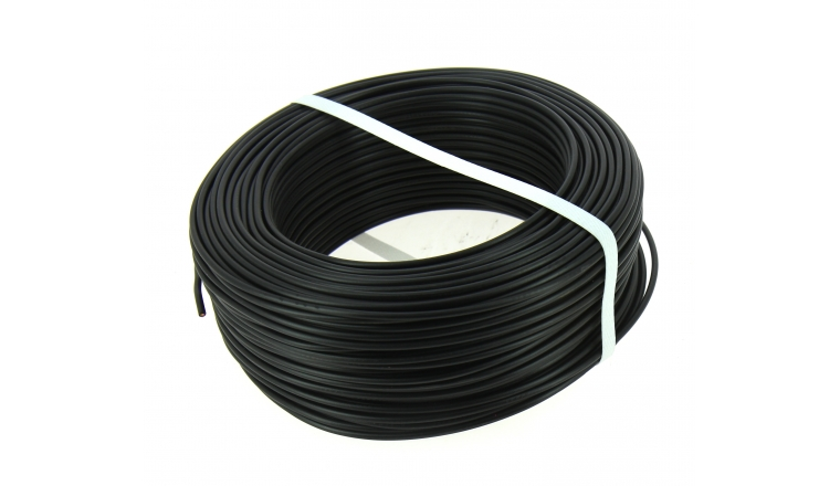 general cable 100 m de fil lectrique 2 5 mm noir. Black Bedroom Furniture Sets. Home Design Ideas
