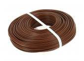 Fil Electrique H07V-U Marron 2.5 mm² - Bobine de 100 m - Ref 111006 - Debflex