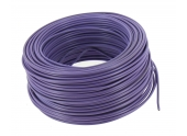 Fil Electrique H07V-U Violet 2.5 mm² - Bobine de 100 m