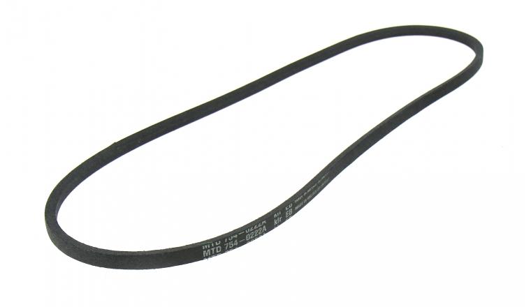 Courroie de Traction Trapezoïdale pour Fraise à Neige 12 x 6 mm - Ref 754-0222A - MTD