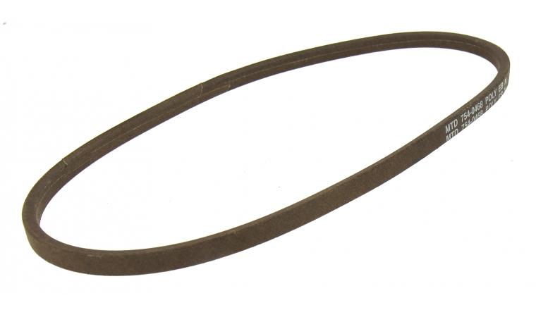 courroie trapezo dale pour tondeuse autoport e 16 x 9 mm ref 754 0468 mtd. Black Bedroom Furniture Sets. Home Design Ideas