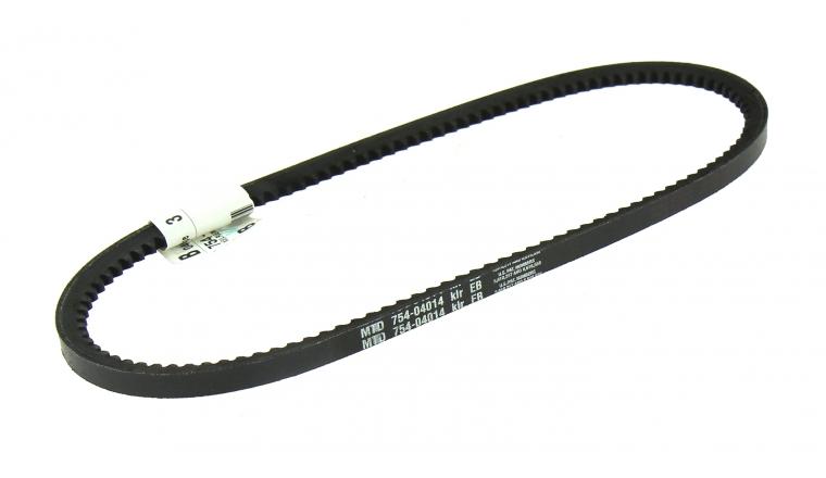 Courroie Crantée Trapezoïdale pour Fraise à Neige 10 x 10 mm - Ref 754-04014 - MTD