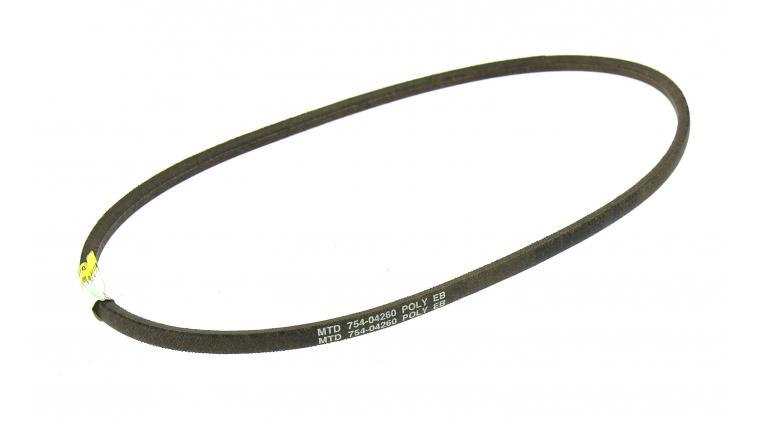 Courroie de Transmission Trapezoïdale pour Fraise à Neige et Tondeuse Thermique10 x 6 mm - Ref 754-04260 - MTD