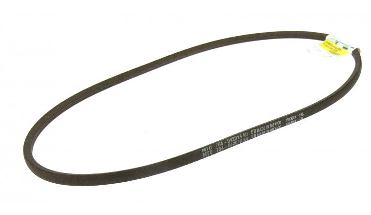 Courroie d\'Avancement Trapezoïdale pour Fraise à Neige 10 x 6 mm - Ref 754-04201A - MTD