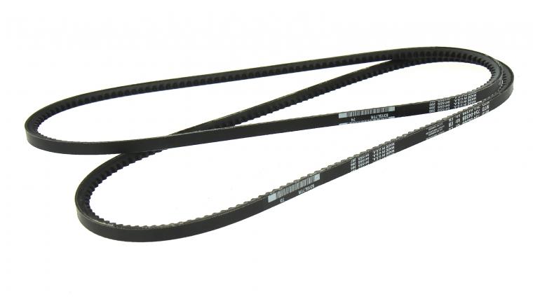 Lot de 2 Courroies Trapezoïdale d\'Entraînement Crantée pour Fraise à Neige 11 x 9 mm - Ref 754-0430B - MTD