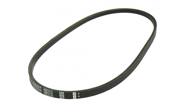 Courroie de Transmission Trapezoïdale pour Tondeuse Autoportée 14 x 6 mm - Ref 28012 - Outils Wolf