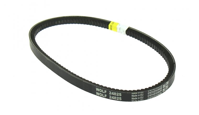 Courroie de Frein de Lame Trapezoïdale pour Tondeuse Thermique Tractée 14 x 12 mm - Ref 24825 - Outils Wolf