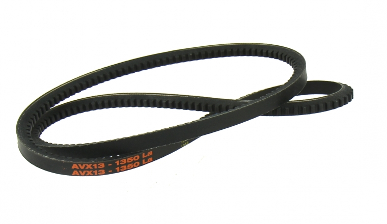 Courroie de Circuit de Refroidissement Crantée Trapezoïdale pour Tracteur IH 16 x 13 mm - Ref 3136258 R1
