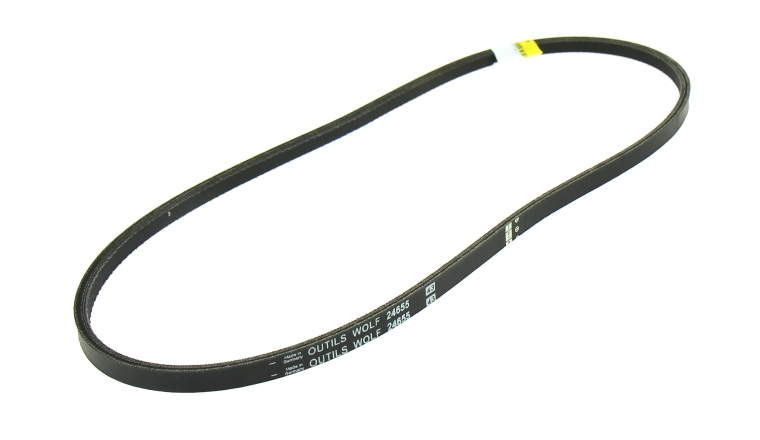 Courroie de Traction Trapezoïdale pour Tondeuse Thermique Tractée 13 x 6 mm - Ref 24655 - Outils Wolf