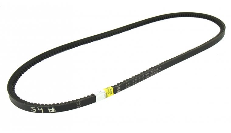 Courroie de Pompe à Eau Crantée Trapezoïdale pour Tracteur Deutz Fahr 16 x 13 mm - Ref 01181126