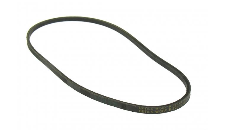Courroie de Traction Trapezoïdale pour Tondeuse Thermique Tractée 12 x 8 mm - Ref 23633 - Outils Wolf
