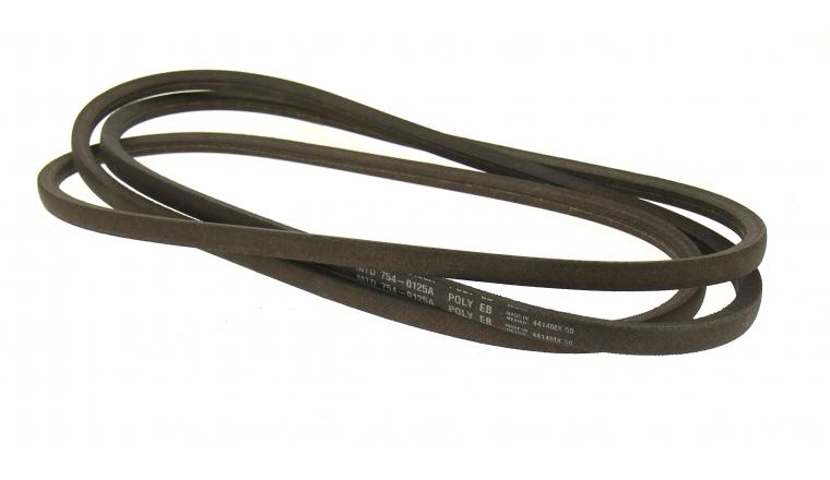 Courroie de Transmission Hydrostatique Trapezoïdale pour Tondeuse Autoportée et Fraise à Neige14 x 11 mm - Ref 754-0125A - MTD