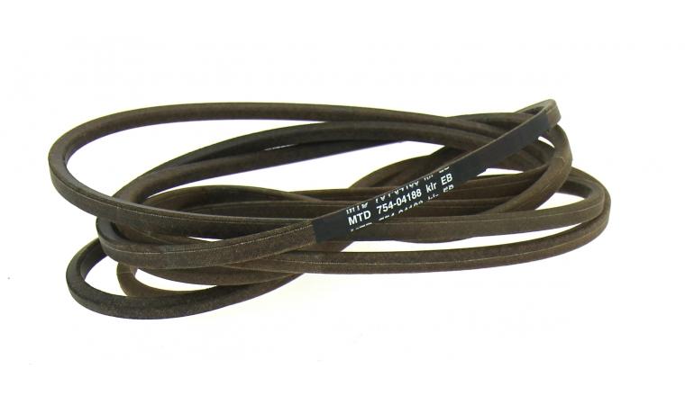 Courroie de Lame Trapezoïdale pour Tondeuse Autoportée 13 X 11 mm - Ref 754-04188 - MTD