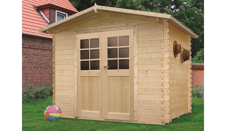 abri de jardin en bois 19 mm m solid s8603. Black Bedroom Furniture Sets. Home Design Ideas