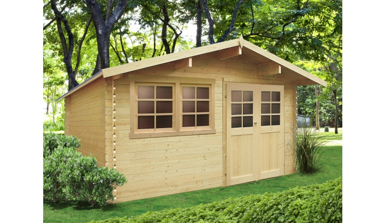 Abri de jardin en Bois NIORT Solid 10.82 m² S8308