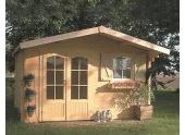 Abri de jardin en Bois CHAMONIX Solid 10.99 m² S8982