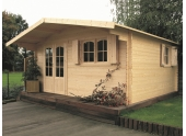 Abri de jardin en Bois CHAMONIX Solid 17.79 m² S8981