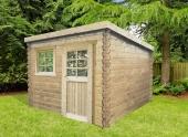 Abri de jardin en Bois NEVERS Solid 4.60 m² S8332
