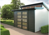 Abri de jardin en Bois MILANO Solid 8.58 m² S8246