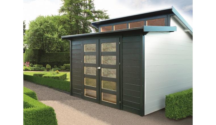 abri de jardin en bois 28 mm m solid s8246. Black Bedroom Furniture Sets. Home Design Ideas
