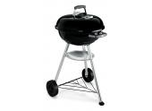 Barbecue à Charbon Compact Kettle Ø 47cm Noir - Ref 1221004 - Weber