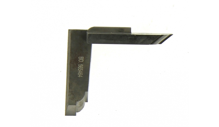 Jeu de 2 couteaux profilés BD565464 pour congé carré