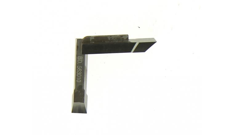Jeu de 2 Couteaux Rainures - 10 mm - Ref BD563010 - Le ravageur