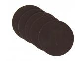 Lot de 5 Disques Abrasifs Velcro Diamètre 127 mm -Grain 120 - Ref 8052 - Dremel