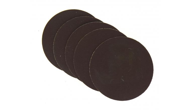 Lot de 5 Disques abrasifs Velcro Diamètre 127 mm - Grain 80 - Ref 8051 - Dremel