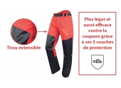Pantalon de Bûcheron Prior Move Pro XS à 2XL Anti-Coupure Type A Classe 1 - Francital