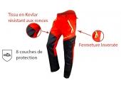 Pantalon de Bûcheron Cervin M à 2XL Anti-Coupure Type A Classe 1 - Francital