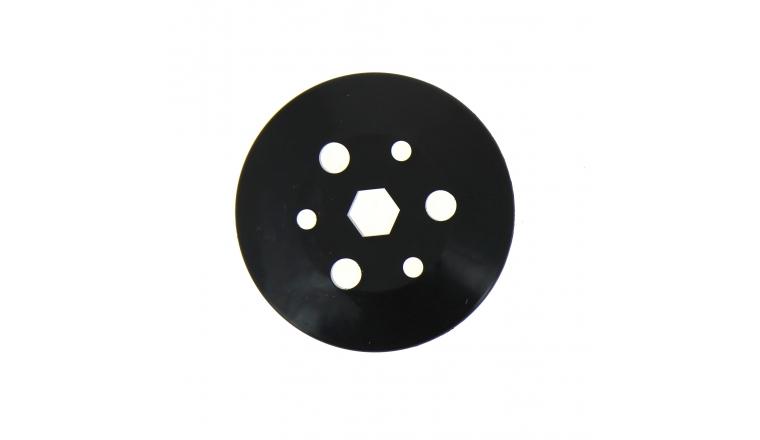 Demi Poulie Inférieure pour tondeuse thermique à réducteur à bain d\'huile - Ref 24840 - Outils Wolf