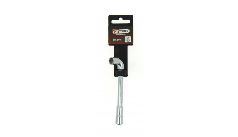 Clé à Pipe 10 mm en Chrome - Ref 517.0410 - KS Tools