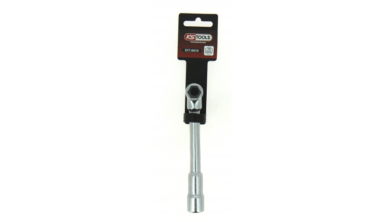 Clé à Pipe 14 mm en Chrome - Ref 517.0414 - KS Tools