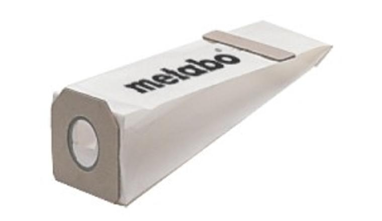 5 sacs à poussière METABO 6.31286