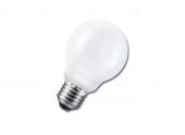 Lampe fluocompacte globe 15W/75W culot E27