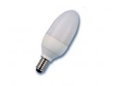 Lampe fluocompacte 7W flamme culot E14