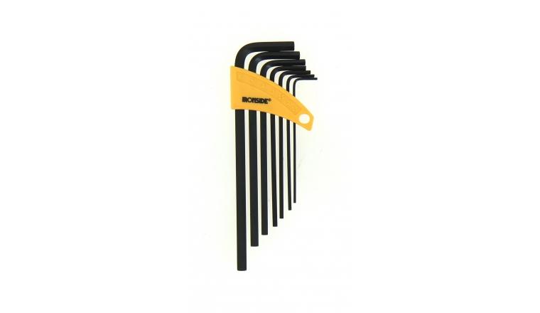 Assortiment de 7 clés mâle 6 pans - 1.5 à 6 mm - Ref 114007 - Ironside