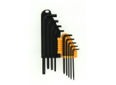 Assortiment de 9 clés mâle Torx - T8 à T50 - Ref 114014 - Ironside