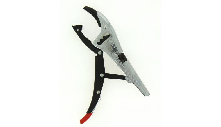 Pince Etau Ouverture de 0 à 85 mm à patins orientables - Ref 115.1038 - KS Tools