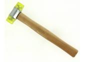 Maillet à Embout Plastique Manche Bois 35 mm - Ref 140.5202 - KS Tools