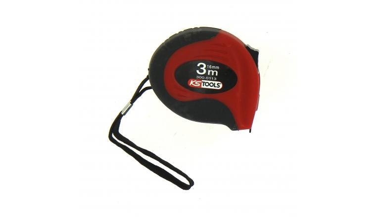 Mètre Ruban 3 m x 16 mm - Ref 300.0113 - KS Tools