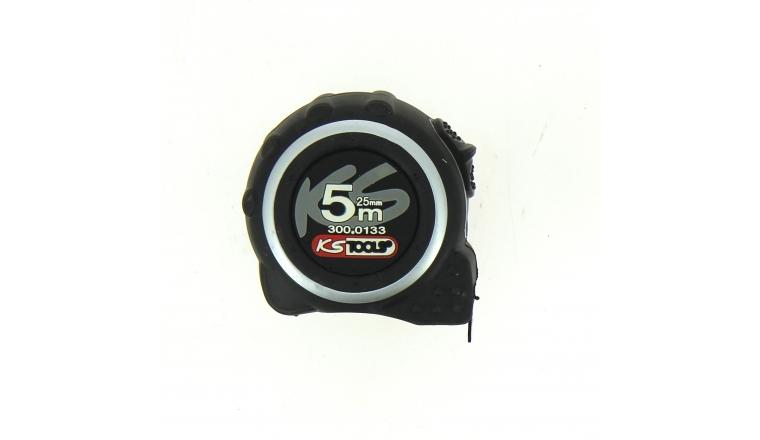 Mètre ruban Recto Verso 5 m x 25 mm - Ref 300.0133 - KS Tools